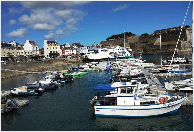 Belle-Île-en-Mer, Bretania