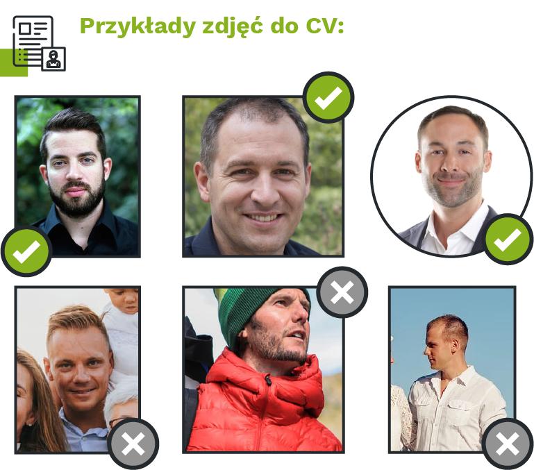przykłady zdjęć doCV